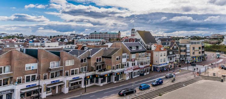 Uitzicht Prominent Inn hotel Noordwijk dorp